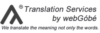 Translation Services by webGóbé