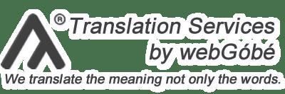 Translation Services by webGóbé